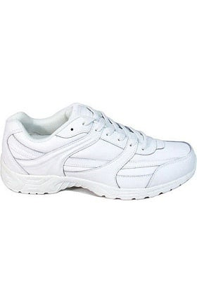 Genuine Grip Women's White Jogger Work Shoe