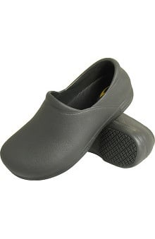 Genuine Grip Men's Black Injection Clog
