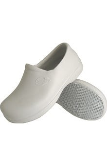 Genuine Grip Men's White Injection Clog