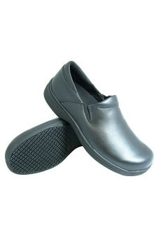 Genuine Grip Women's Black Slip On Shoe