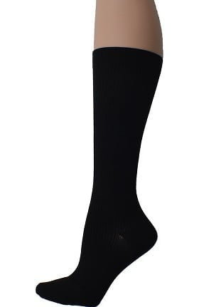 Global Health Men's 15-20 mmHg Total Support Cotton Knee High Socks