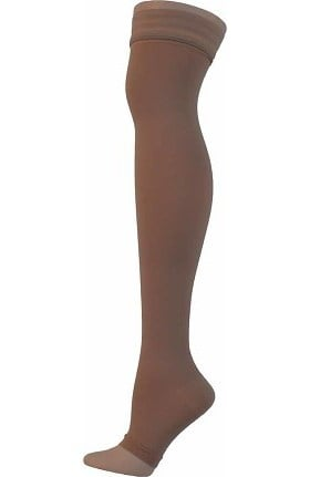 Global Health Women's 20-30 mmHg Compression Extra Firm Closed Toe Thigh High Stockings