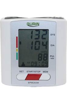 Gurin Pro Series Wrist DiGital 2 User Blood Pressure Monitor With Case