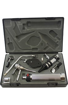 SantaMedical Otoscope & Ophthalmoscope E.N.T. Diagnostic Set