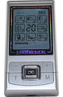 SantaMedical Mini Pulse Stimulator With 8 Modes