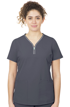 HH360° by Healing Hands Women's Sonia Stretch Solid Scrub Top