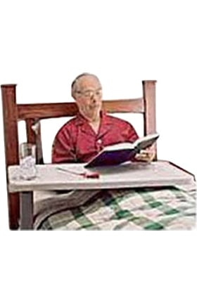 Carex Health Overbed Table C Style Base Adjusts For Left & Right Hand Use