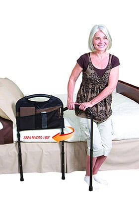 """Stander Stable Bed Rail 18"""" Width & 31""""-44"""" Adjustable Height"""