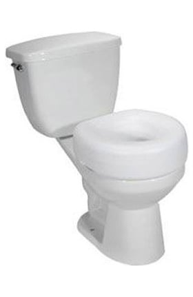 Drive Medical Raised Toilet Seat 300lb Weight Capacity