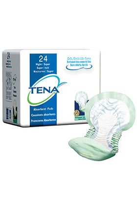 TENA Super Absorbency Night Pad 24 Pack