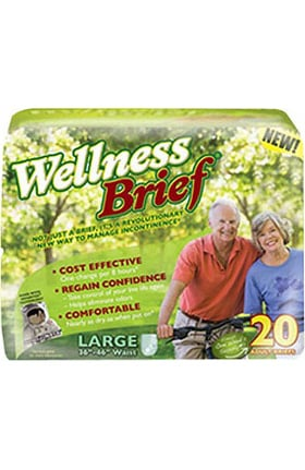 Wellness Brief Original Adult Diaper Super Absorbent