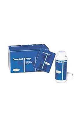 Coloplast Prep Medicated Protective Skin Barrier Wipes Box of 54