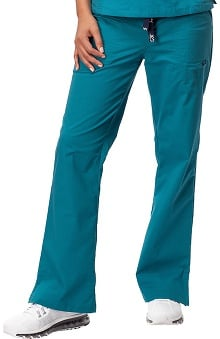 petite: IguanaMed Women's Quattro Flare Leg Scrub Pant