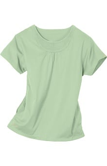 Clearance IguanaMed Women's Pieced Neck Scrub Top