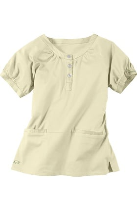 Clearance IguanaMed Women's Henley Scrub Top