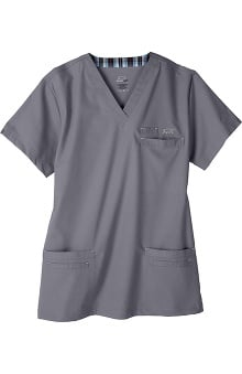 Clearance IguanaMed Men's Icon Solid Scrub Top