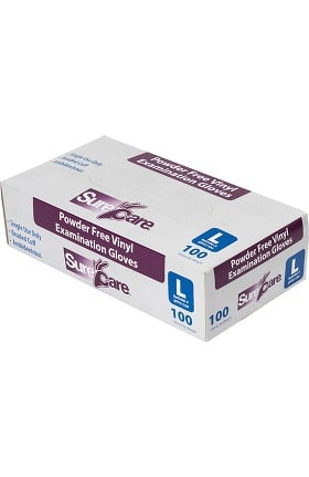 SureCare® Powder Free Vinyl 4 MIL Exam Glove