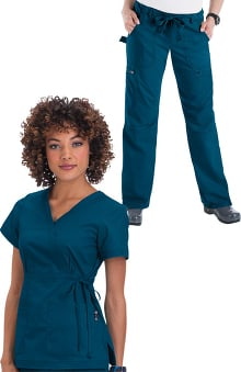 koihappiness.com: Koi Happiness Scrubs Women's Scrub Set