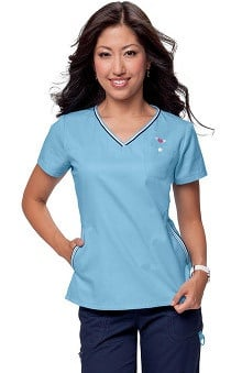 Clearance koi Women's Ashley Crossover V-Neck Solid Scrub Top