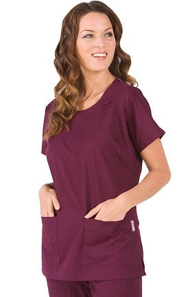 Clearance koi Women's Andie Neck T-Shirt-Style Top
