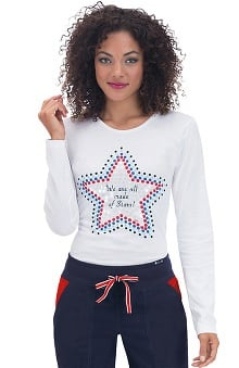 koi Women's Tessa Long Sleeve T-Shirt