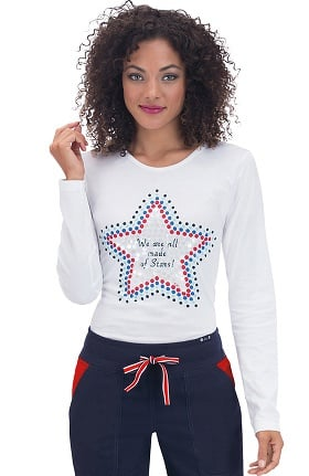 Clearance koi Classics Women's Tessa Long Sleeve T-Shirt