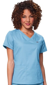 Clearance koi Comfort Women's Nicole Crossover V-Neck Solid Scrub Top