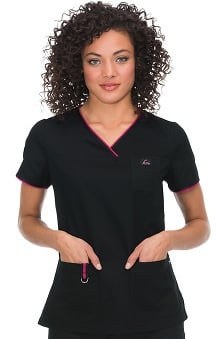 Clearance koi Limited Edition Women's Nicole Crossover V-Neck Scrub Top