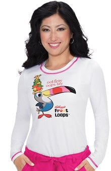 Clearance koi by Kellogg's® Women's Ariel Toucan Sam Print Long Sleeve T-Shirt