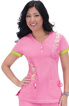 Clearance koi Limited Edition Women's Katrina V Neck Scrub Top