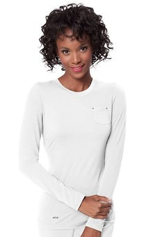 koi Sapphire Women's Sandra Long Sleeve Crewneck T-Shirt