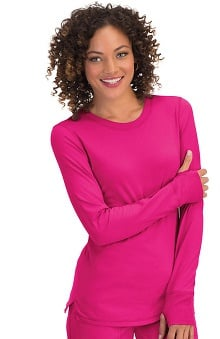 koi Comfort Women's Harper Long Sleeve T-Shirt With Thumb Hold