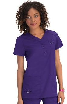 koi Women's Josie V Neck Scrub Top