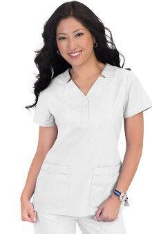 Clearance koi Women's Erin Notch Collar Scrub Top
