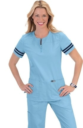 Clearance koi Classics Women's Ingrid Athletic Scrub Top