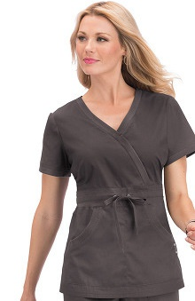 koi Comfort Women's Tamara Crossover V-Neck Scrub Top