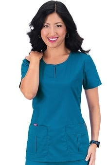 Clearance koi Stretch Women's Elsa Scrub Top