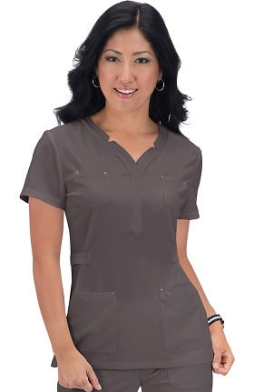 Clearance koi Sapphire Women's Francesca Stretch Scrub Top