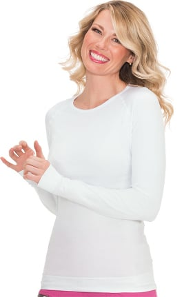 koi Lite Women's Devine Seamless Solid Long Sleeve T-Shirt