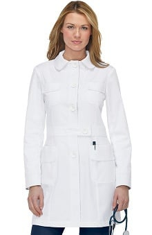 Koi Women's Geneva With Contrast Lab Coat