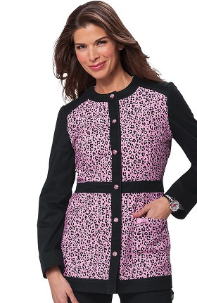 Clearance koi Limited Edition Women's Ophelia Button Front Animal Print Jacket