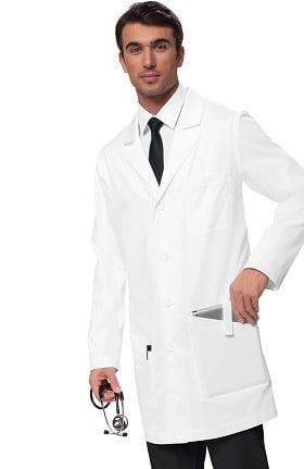 "koi Classics Men's Jack 38"" Lab Coat"