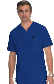 koi Men's Jason 3Pkt Solid Scrub Top