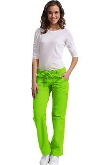 tall: Koi Happiness Women's Lindsey Cargo Scrub Pants