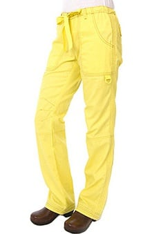 clearance10: Koi Happiness Women's Lindsey Cargo Scrub Pants