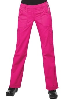 tall: Koi Happiness Women's Sara Flat Front Flared Scrub Pants