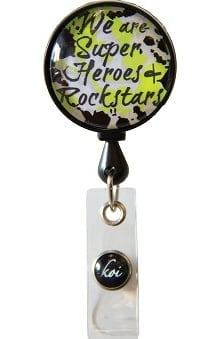koi Accessories Women's Retractable ID Badge Reel