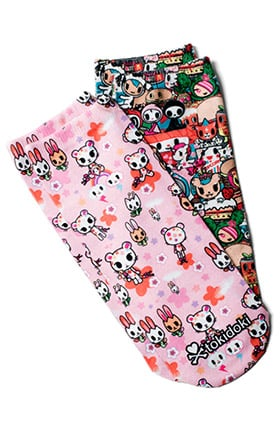 koi by tokidoki Women's No-Show Character Print Socks 2 Pack