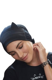 koi Accessories Women's Cat Ear Scrub Hat