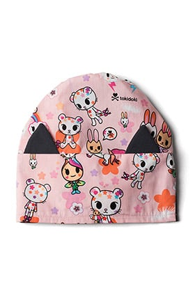 koi by tokidoki Women's Cat Ear Character Print Surgical Hat